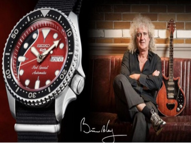 Seiko 5 Sports Brian May Red Special Limited Edition