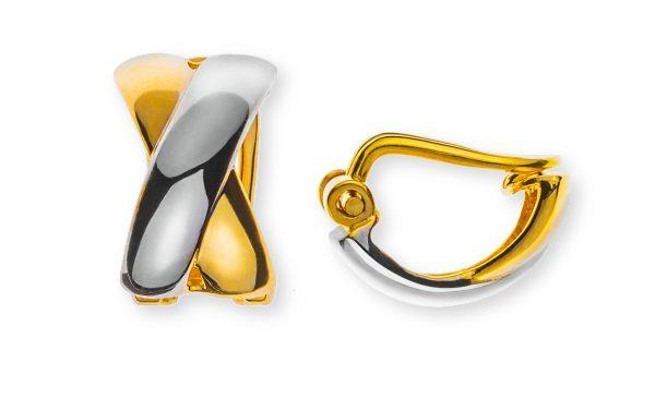 ohrclip-halbcreolen-x-form-gelbgold-750-teilrhodiniert-poliert-OGO1158