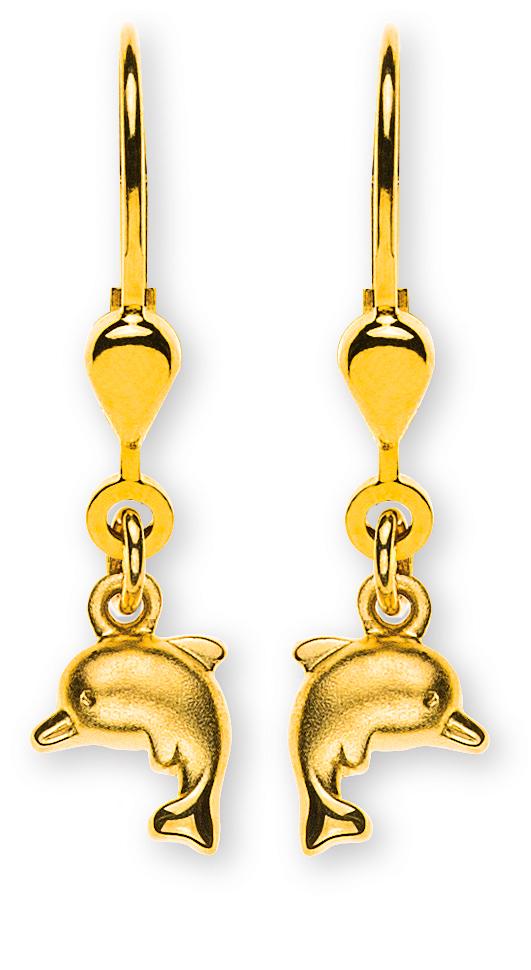 ohrhänger-delfin-gesandelt-gelbgold-750-mit-brisur-OGO1063