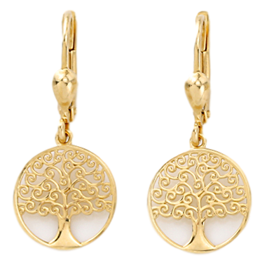 ohrhänger-gelbgold-750-lebensbaum-OGO1108