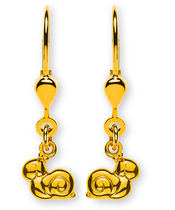 ohrhänger-schnecke-poliert-gelbgold-750-mit-brisur-OGO1066