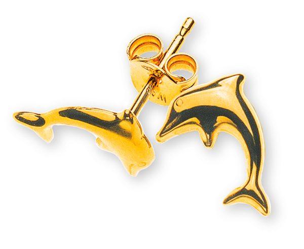 ohrstecker-delfine-gelbgold-750-OGO1081