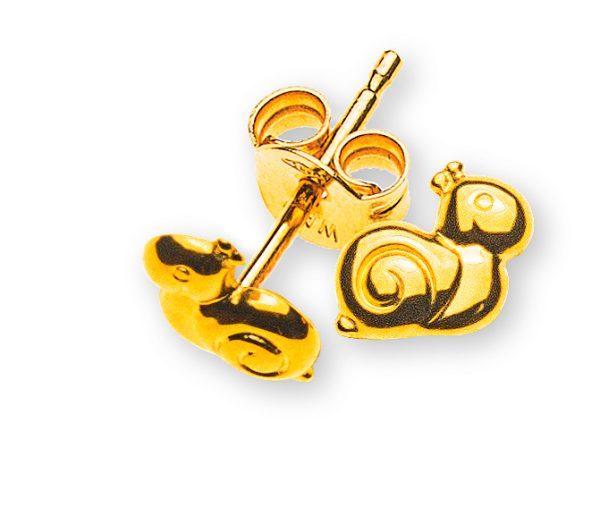 ohrstecker-schnecke-gelbgold-750-OGO1055
