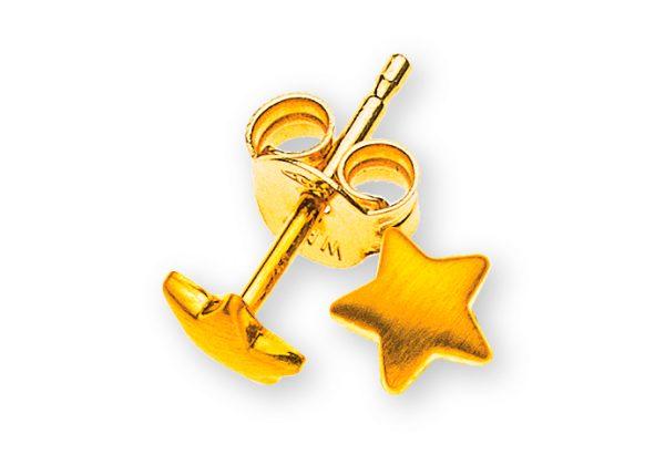 ohrstecker-sterne-gelbgold-750-seidenmatt-OGO1057
