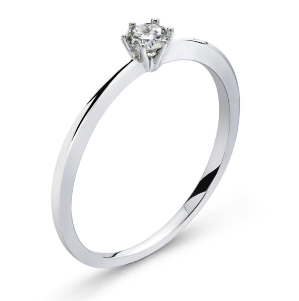 Solitär-Ring-6-Griff-Fassung-Weissgold-750-H-SI-0.15ct.-RSO2053