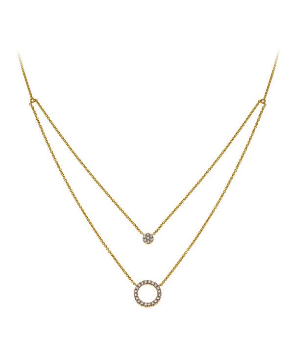 collier-mit-2-kreisen-gelbgold-750-mit-27-brillanten-h-si-0-14ct-40-42cm