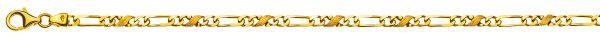 carrera-figaro-collier-poliert-satiniert-gelbgold-750-3-5mm-45cm