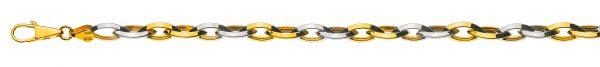 navette-messerschliff-bicolor-gelb-weissgold-750-50cm