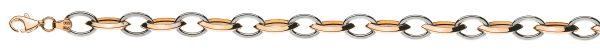 navette-rg-messerschliff-anker-wg-oval-bicolor-rot-weissgold-750-45-cm