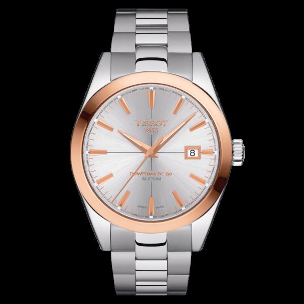Tissot-Gentleman-Powermatic80-Silicium-Solid-18K-Roségold Bezel-T927.407.41.031.00
